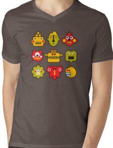 Cute masks Mens V-Neck T-Shirt
