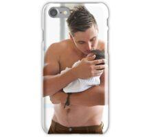 cradled iPhone Case/Skin
