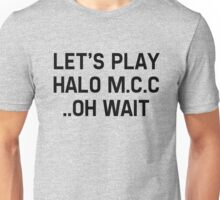 Halo Master Cheif Collection Unisex T-Shirt