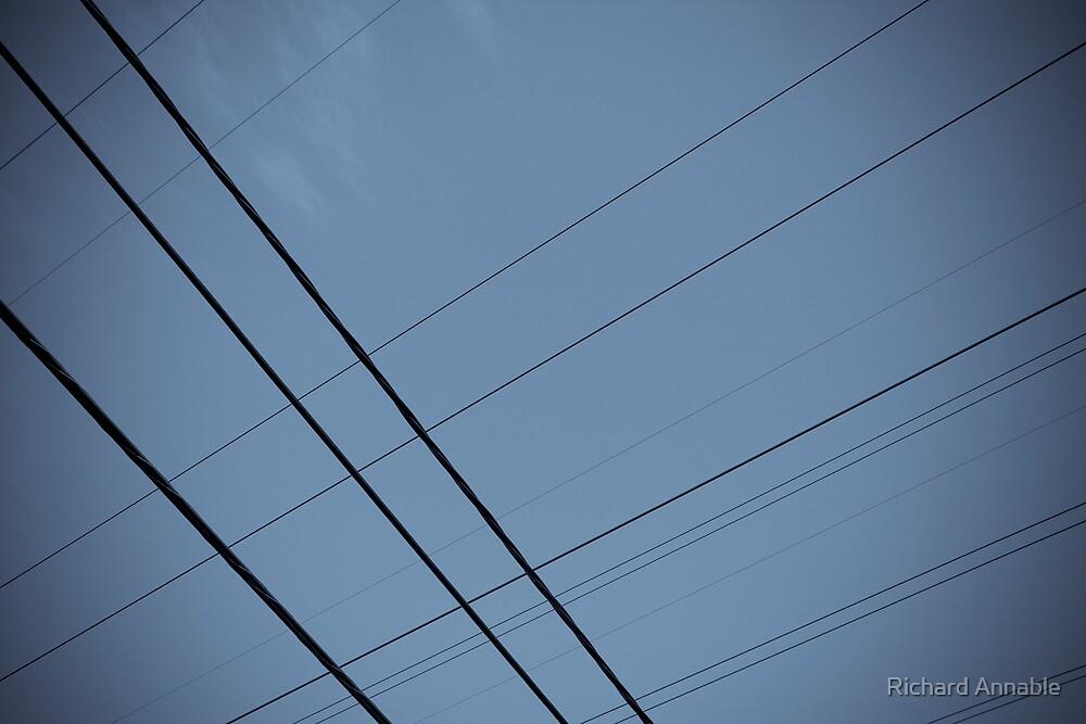 Lines in the sky by Richard Annable