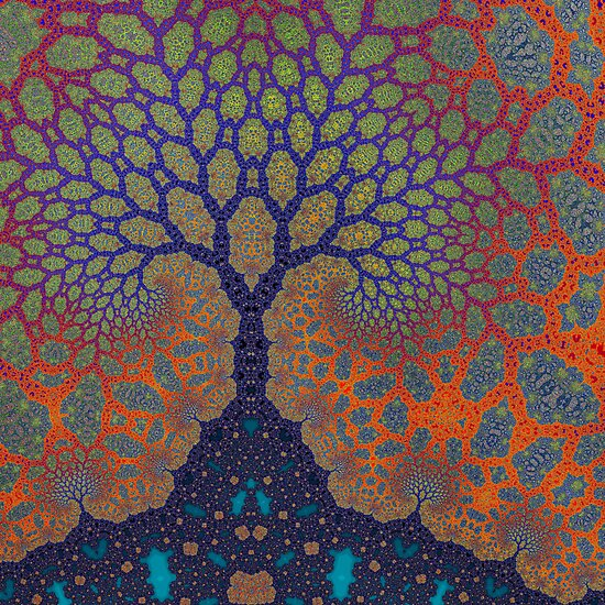 Inner Life of a Tree by Owen Kaluza
