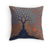 Inner Life of a Tree Throw Pillow