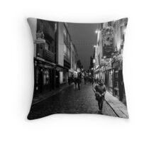 Temple Bar Throw Pillow