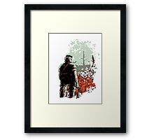 Big Boss (warm colours) Framed Print