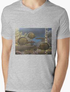The Reef Mens V-Neck T-Shirt