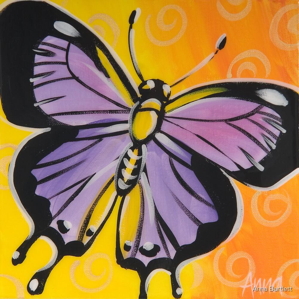 Butterfly 1 by Anna Bartlett