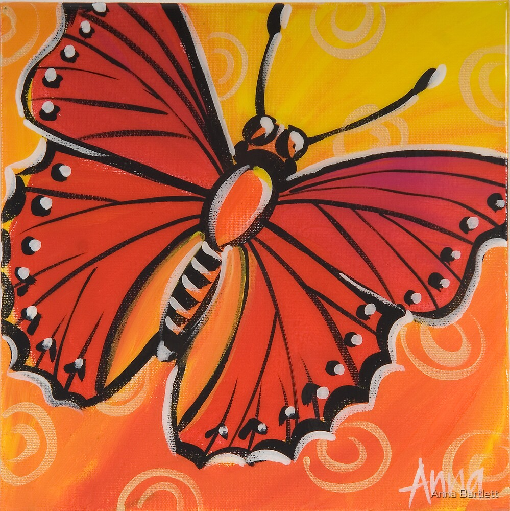 Butterfly 5 by Anna Bartlett