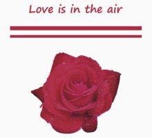 Rose Radtko - Love is in the air (I) Kids Tee