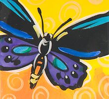Butterfly 11 by Anna Bartlett