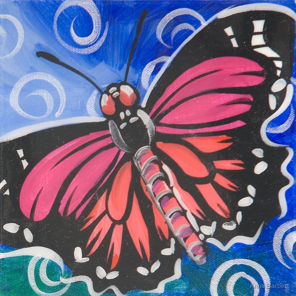 Butterfly 12 by Anna Bartlett