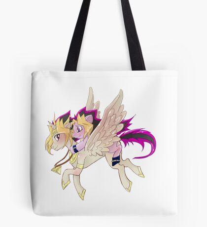 My little pony Yu-Gi-Oh! Tote Bag