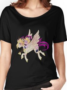 My little pony Yu-Gi-Oh! Women's Relaxed Fit T-Shirt