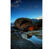 Solid Rock Photographic Print