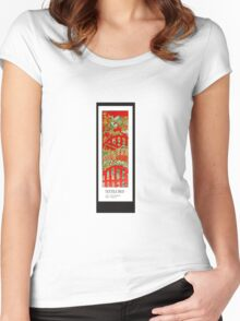 RED BED Women's Fitted Scoop T-Shirt