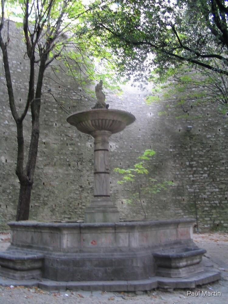 Perugia fountain by Paul Martin