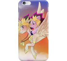 Yu-Gi-Oh!+My little pony sunset iPhone Case/Skin