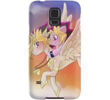 Yu-Gi-Oh!+My little pony sunset Samsung Galaxy Case/Skin