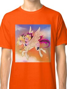 Yu-Gi-Oh!+My little pony sunset Classic T-Shirt