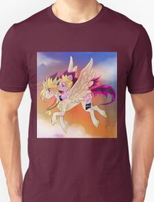 Yu-Gi-Oh!+My little pony sunset T-Shirt