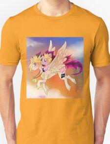 Yu-Gi-Oh!+My little pony sunset T-Shirt