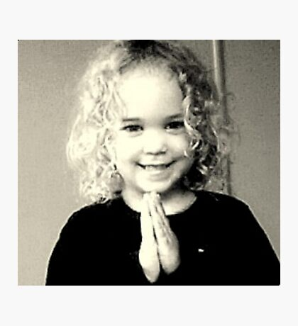 Prayer Photographic Print