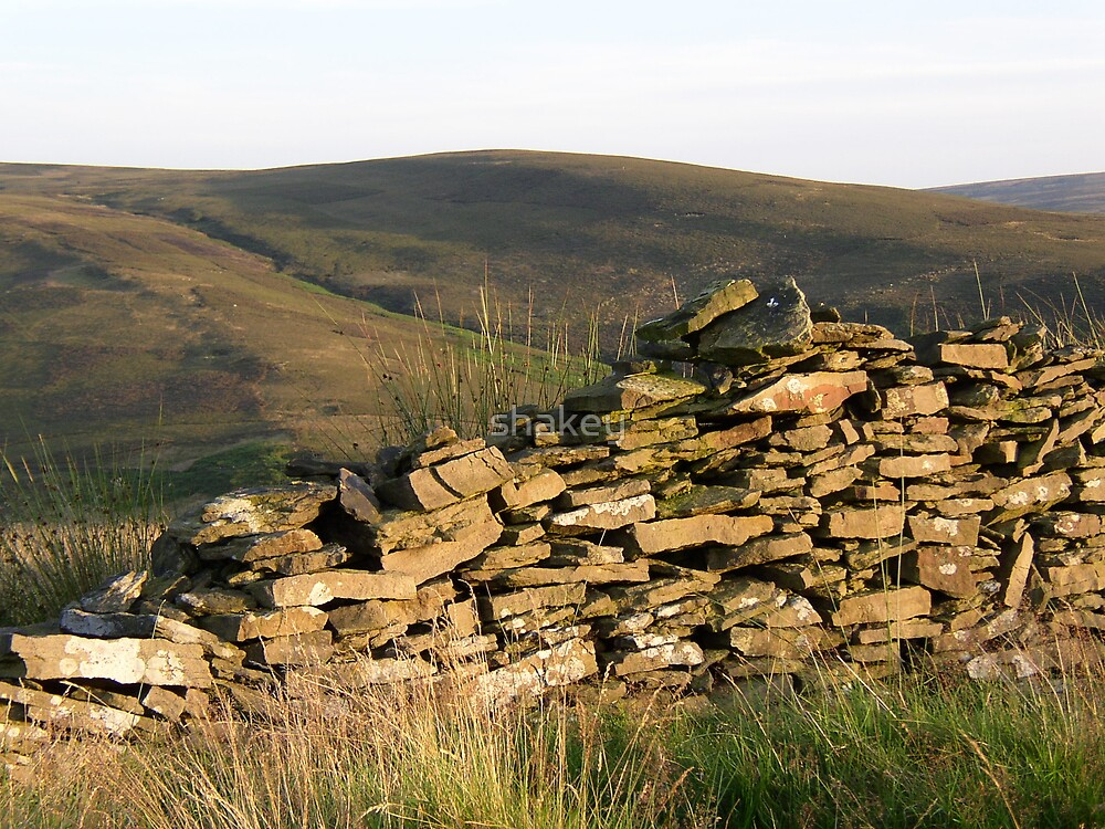 Dry Stone Wall by shakey