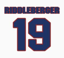 National baseball player Denny Riddleberger jersey 19 by imsport