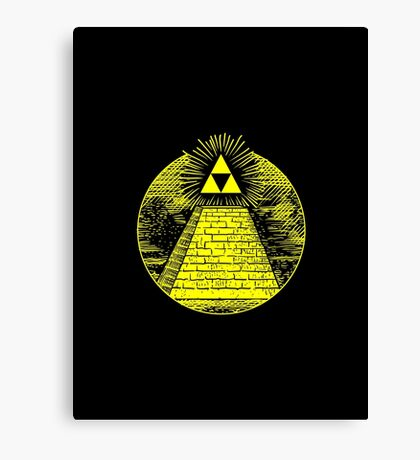 Tri-Force of Providence Canvas Print