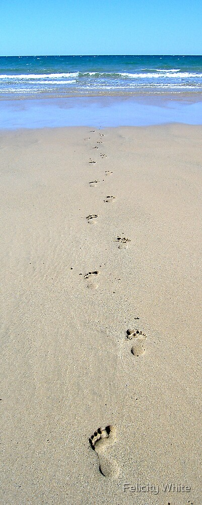 Footprints by Felicity White