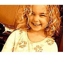 Cheeky Grin Photographic Print
