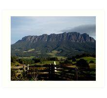 photoj Australia - Tasmania, Mt Roland Art Print
