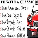 Life with a Classic MG by Sharon Poulton