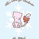 Mew Christmas by Steph Hodges