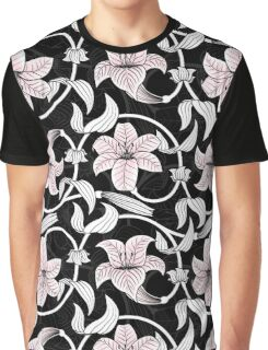Pattern with lilies Graphic T-Shirt