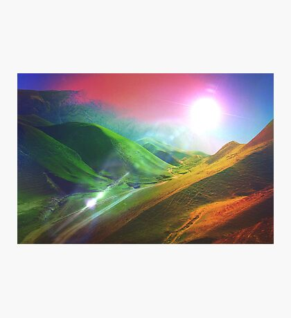 The Sound Waves of the Sun Photographic Print