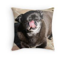 Minnie the disgusting Throw Pillow