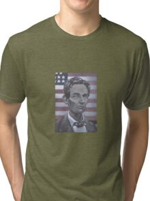 Abe Lincoln Tri-blend T-Shirt