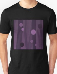 Glitch Homes Wallpaper violetvoyagesky swatch T-Shirt
