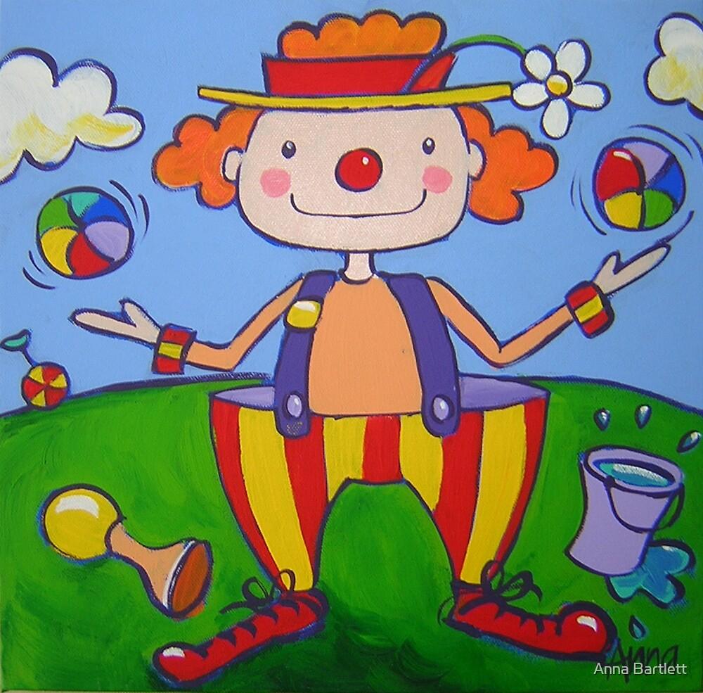 Clown by Anna Bartlett