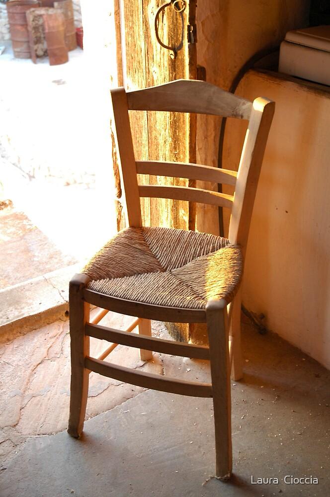 village chair by Laura  Cioccia