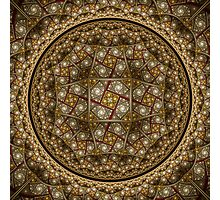Stained Glass Dome Photographic Print