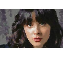 Zooey Photographic Print