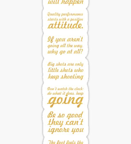 Amazing Life Inspirational Quote - Group3 Sticker
