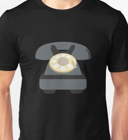 Retro telephone Unisex T-Shirt