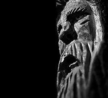 wood spirit by Randy Kinney