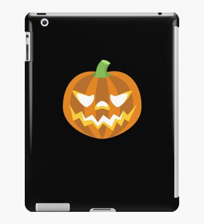 Jack-o-lantern halloween pumpkin iPad Case/Skin