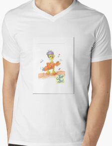 Keep in touch!  Mens V-Neck T-Shirt