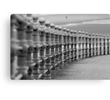 Blackpool's promenade Canvas Print