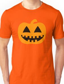 Happy Jack-O-Lantern Pumpkin Unisex T-Shirt