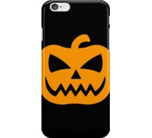 Creepy Jack-O-Lantern iPhone Case/Skin